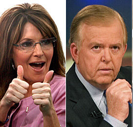 """""""Lou Dobbs, he of the not making sense on CNN, and Sarah Palin, she of the not making sense always, are both contemplating runs for the presidency,"""" according to an […]"""