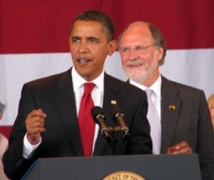 Obama pimps for Corzine