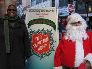 Salvation Army Santa