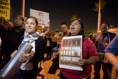 anti arpaio protesters