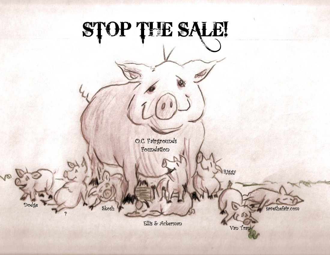 """. . . [Report from OJ reader and Fairgrounds activist """"Gericault."""" Illustration by Gericault, Nov. 2009] The State of af-FAIRs, Jan. 2011 Last years Orange County Fair broke all attendance […]"""