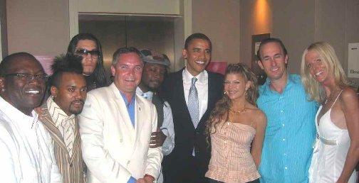 Barack Obama and the Salahis