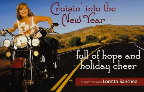 Loretta Sanchez Christmas Card 2007