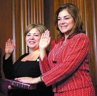 Loretta and Linda Sanchez