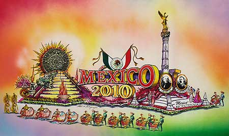 """Mexican officials plan to kick off a year's worth of bicentennial events, commemorating their independence with a float at the 2010 Tournament of Roses Parade,"" according to the O.C. Register.  […]"
