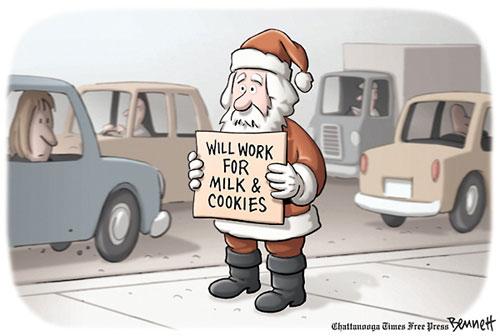 No job for Santa