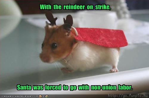 In case you missed it, Christmas as we knew it is over. The elves union, SEIU (Santa's Elves for Independence Union), has ousted Santa in a hostile takeover. In a […]