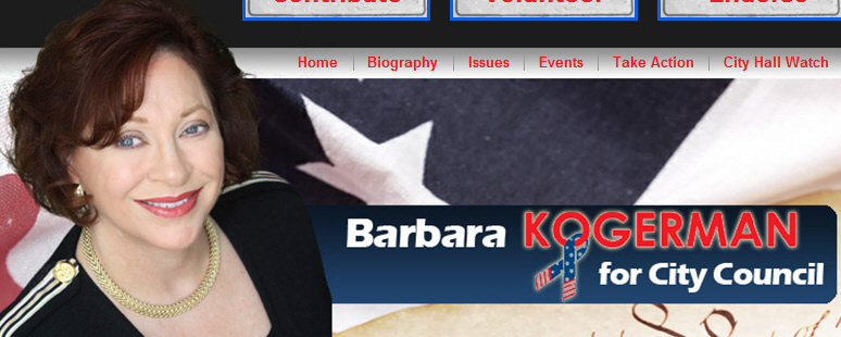 FOR IMMEDIATE RELEASE DATE: Jan. 11, 2010 CONTACT: Barbara Kogerman (949) 855-9889 or (949) 422-6203 (cell) City Council Put on Notice City Council Candidate Barbara Kogerman Launches Laguna Hills Term […]