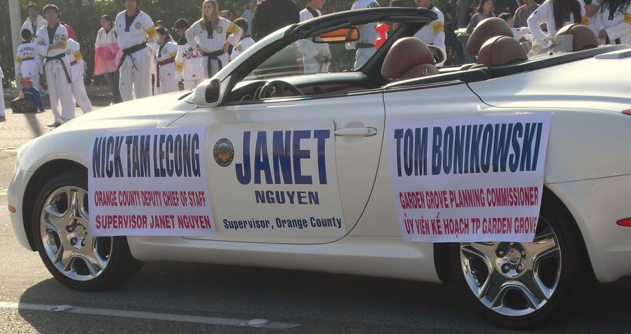 Chairman Janet Nguyen made it obvious this Saturday, at the Tet Parade in Westminster, that she is trying to take over the Garden Grove City Council. Last year she got […]
