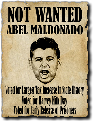A new website has launched and I don't think that tax-raising Republican Abel Maldonado is going to like it. The site appears to promote his GOP opponent for Lt. Governor, […]