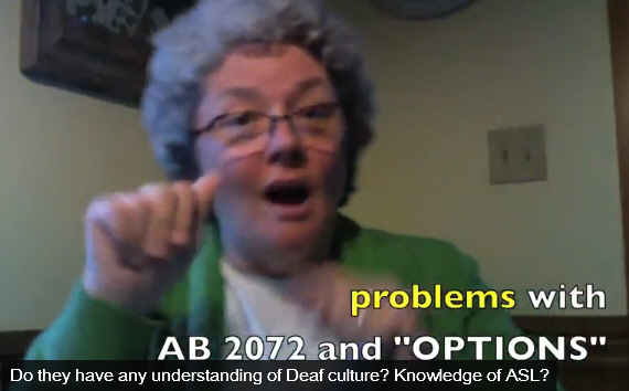 Why is Red County blogger Allen Wilson against choice for parents of deaf children? UPDATE: Click here to see the latests news on AB 2072 (June 12, 2010) Remember when […]