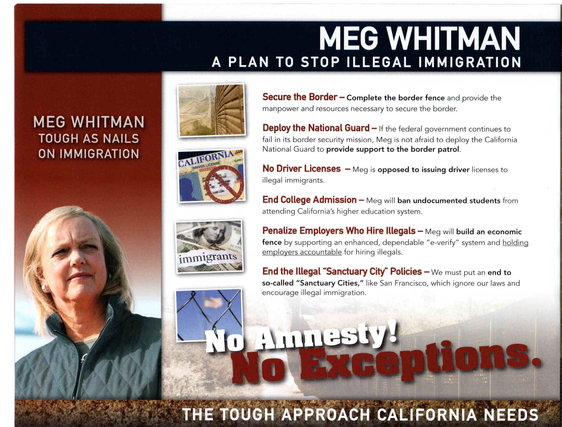 """Does Meg Whitman think Latinos are stupid? She has set up a new website, """"Latinos for Meg,"""" where she says she opposed the Arizona racial profiling law, S.B. 1070. And […]"""