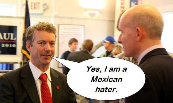 """""""U.S. Senate candidate Rand Paul is stirring it up again, this time by saying he opposes citizenship for children born in the U.S. to parents who are illegal immigrants,"""" according […]"""