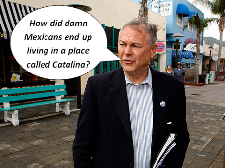 The L.A. Times reported yesterday that Congressman Dana Rohrabacher visited Catalina Island this week, where he harassed the Mexican Consult who was involved in preparing legal matricula consular I.D. cards […]