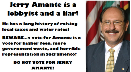 70th Assembly GOP canddiate Don Wagner finally stopped harping about social issues long enough to absolutely nail his RINO opponent, Tustin Mayor Jerry Amante, for raising local taxes and water […]
