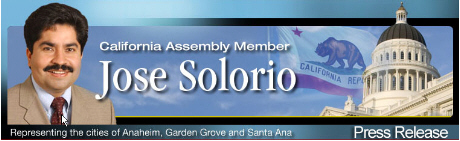 For Immediate Release: June 15, 2010 For more information contact: Carol Chamberlain – office – (916) 319-2069 cell – (916) 804-5355 Assemblyman Solorio Touts Assembly Budget Proposal for its Emphasis […]