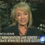 Busted! Racist Arizona Governor Jan Brewer, she of the leathery face, is under investigation, by TV station KPHO, which is looking into ties between her administration and Corrections Corporation of […]