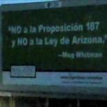 Surprise! GOP gubernatorial candidate Meg Whitman now says she is opposed to Prop. 187 and the Arizona S.B. 1070 racial profiling law, according to the San Francisco Chronicle, which posted […]