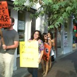 Protesters showed up today in Santa Ana, at the new Meg Whitman campaign office. And guess who showed up to visit with the Whitman staff? None other than Santa Ana […]