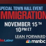 MSNBC SPECIAL TOWN HALL EVENT: A TWO-HOUR DISCUSSION ON IMMIGRATION AND LATINO-AMERICA Lawrence O'Donnell Hosts with Voto Latino's Maria Teresa Kumar live from the University of San Diego NEW YORK […]
