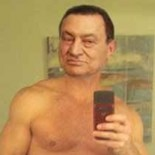 ". . . . .   ""Hosni Mubarak Posts Topless Photo on Craigslist"" Photo Cred: Lalo Alcaraz UPDATE:  The title bears changing given this history that has been made today!..."
