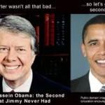 pres. Carter pres Obama