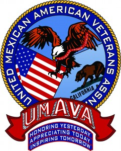 Logo for UMAVA - the United Mexican American Veterans Association