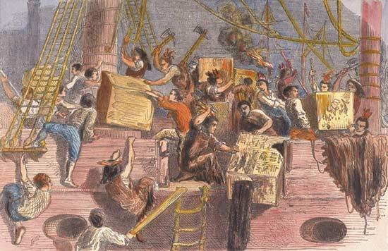 Brueghel. The Bay of Naples