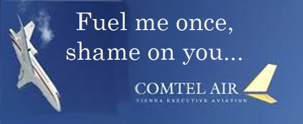 """""""Comtel Air"""" ad parody: """"Fuel Me Once, Shame on You ..."""""""