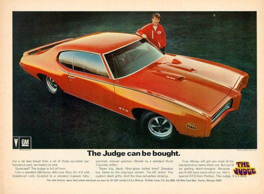 Ad for '69 Pontiac