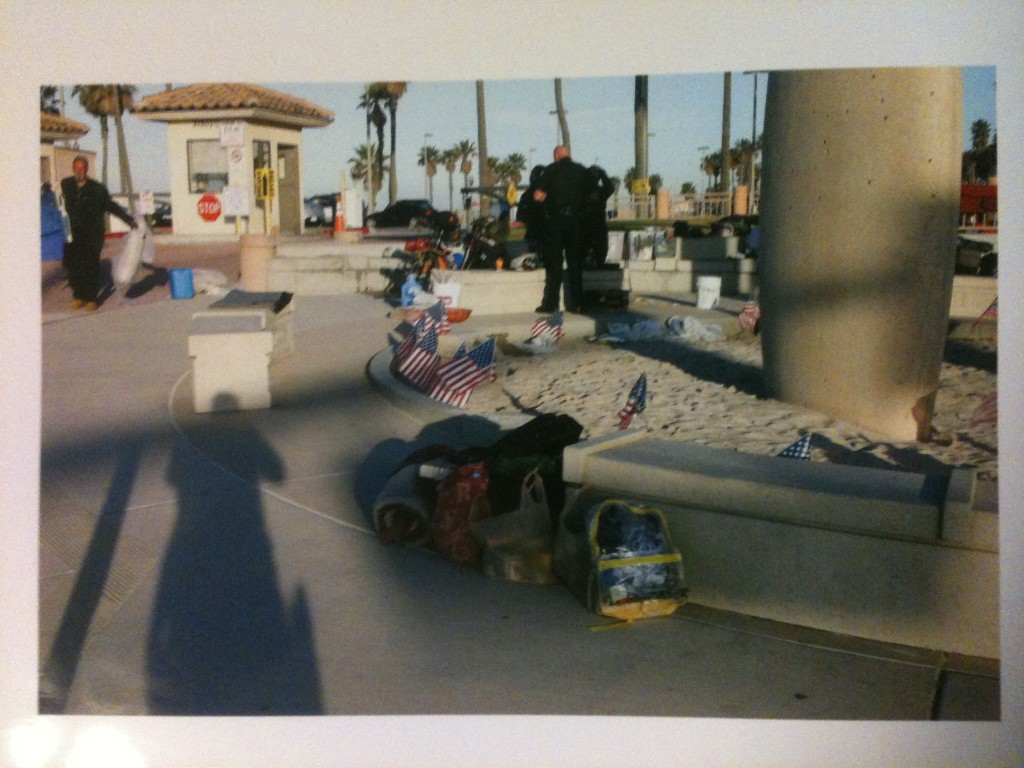 Photo from HBPD showing Occupiers lodging