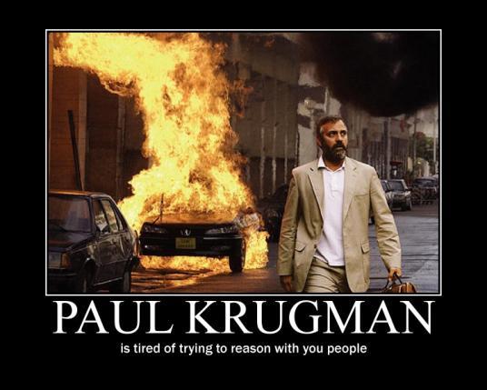 Krugman in Syriana poster