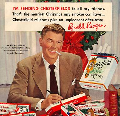 Reagan Chesterfield ad crop