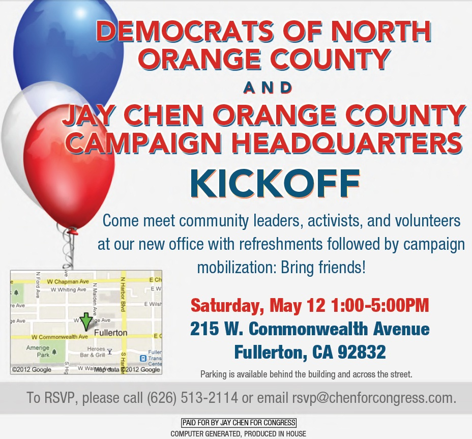 Poster for DNOC Campaign HQ opening