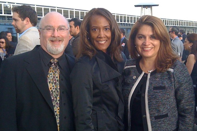 Greg Diamond, Paula Williams, and Sharon Quirk-Silva