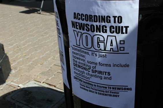 Anti-yoga flyer