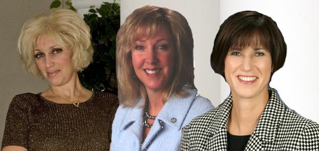 Orly Taitz, Deborah Pauly, and Diane Harkey