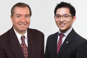 Ed Royce and Jay Chen