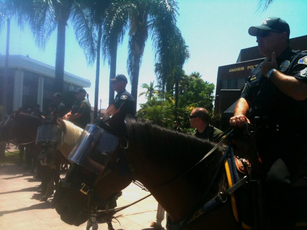 Anaheim PD - horses