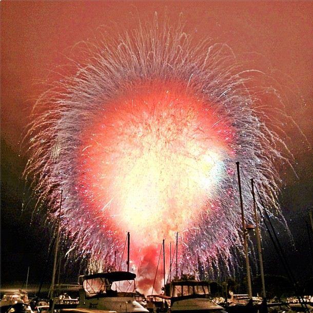 San Diego fireworks explosion