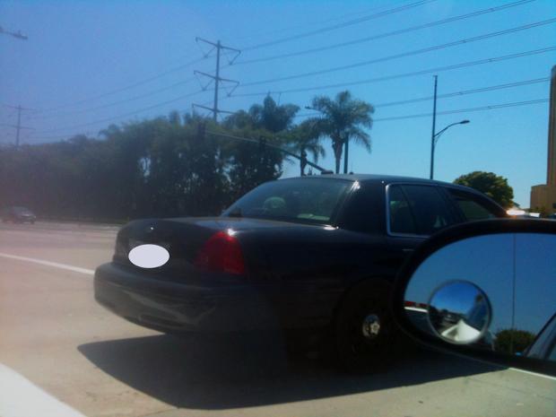 Anaheim - unmarked car