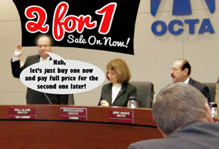 OCTA wants to shun the 2 fot 1 sale and buy 2 separately