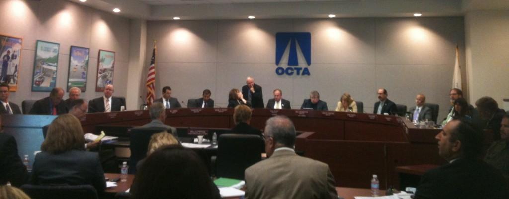 OCTA Board at 9-24 meeting