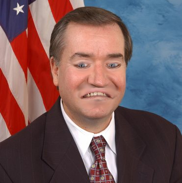 Ed Royce with flipped features