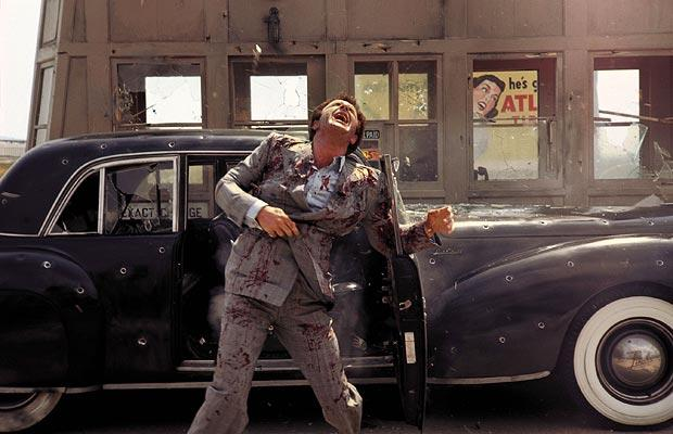 Death of Sonny Corleone at a toll booth