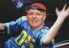 "Daly as guy in ""Pretty Fly for a White Guy"" video"