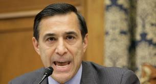 Rep. Darrel Issa, angry