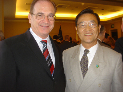 Bob Huff and Steven Choi