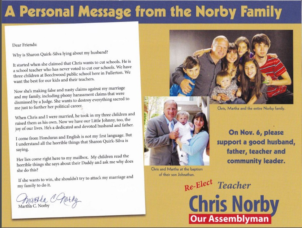 Norby mailer -- family man