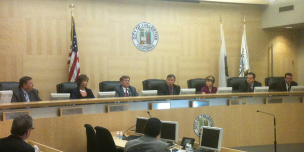 Fullerton City Council for 2013-14